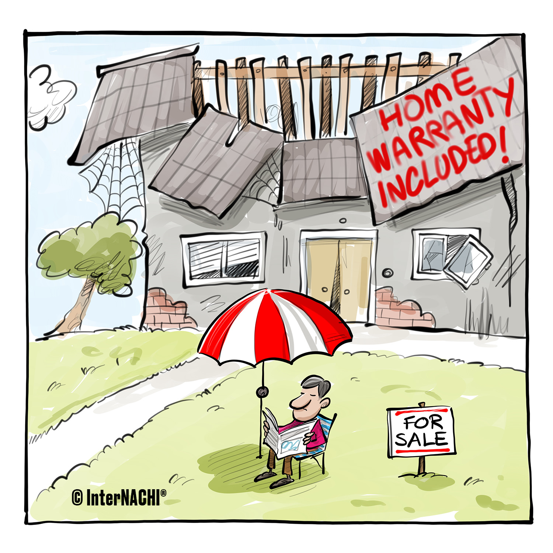 A Home Warranty Included Cartoon