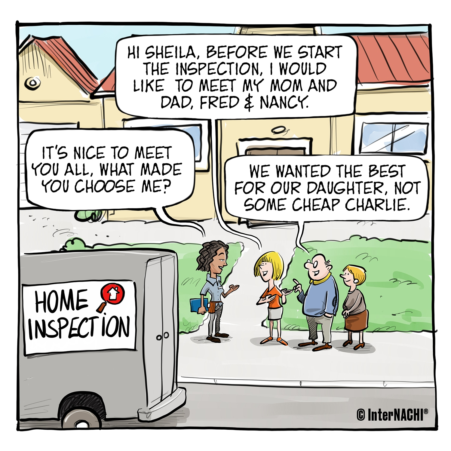 The Inspection Committee Cartoon