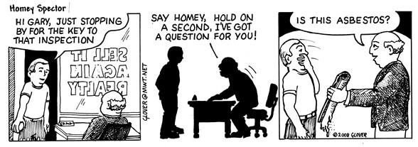 Asbestos 101 Cartoon