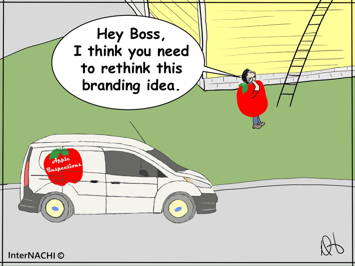 Company Branding Strategies Cartoon