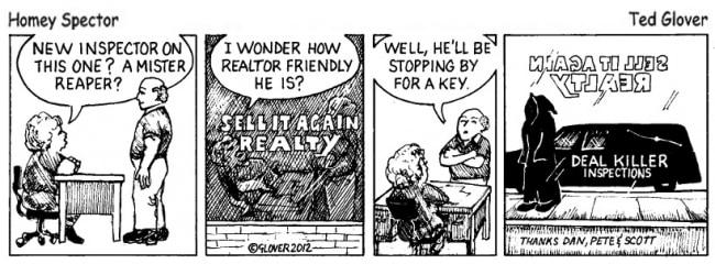 Deal Killer Inspections Cartoon