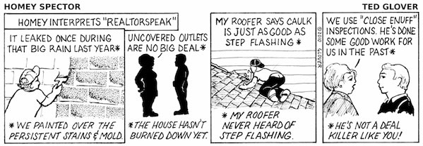 "Homey Interprets ""Realtorspeak"" Cartoon"