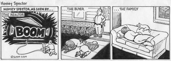 Homey Spector as Seen By Cartoon
