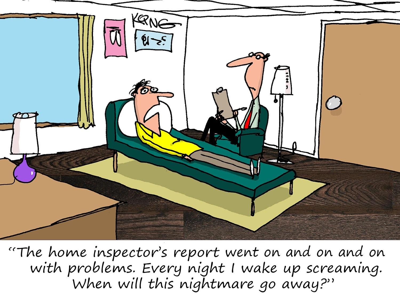 Inspection Report Nightmares Cartoon
