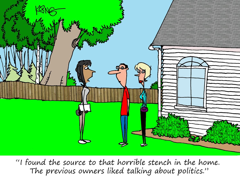 Political Stench Cartoon