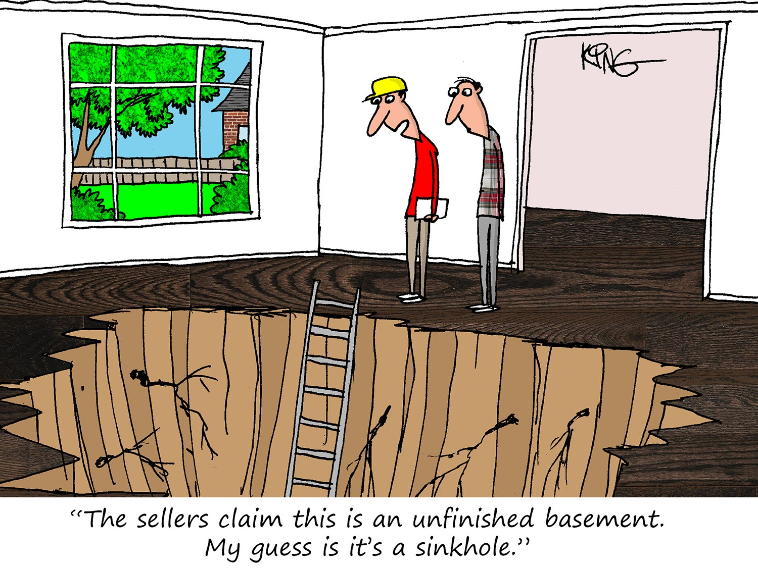 Sinkhole Cartoon