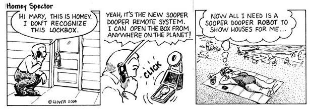 The Sooper Dooper Lock Box Cartoon