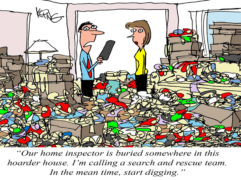 The Lost Inspector Cartoon