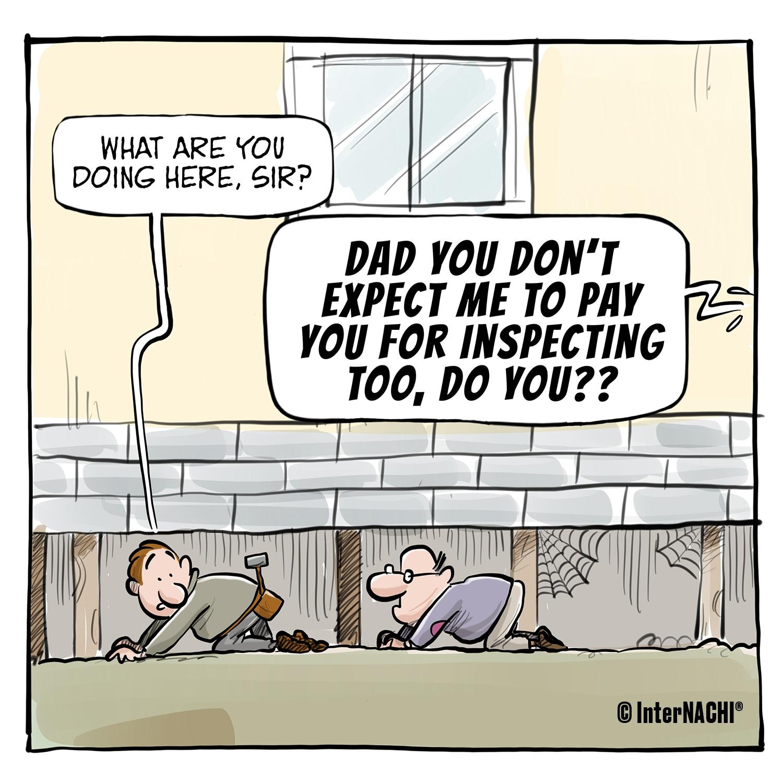 The Relentless Dad Cartoon