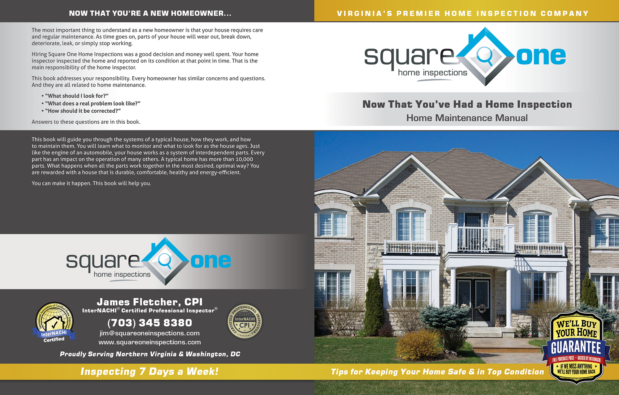 Square One Home Inspections book