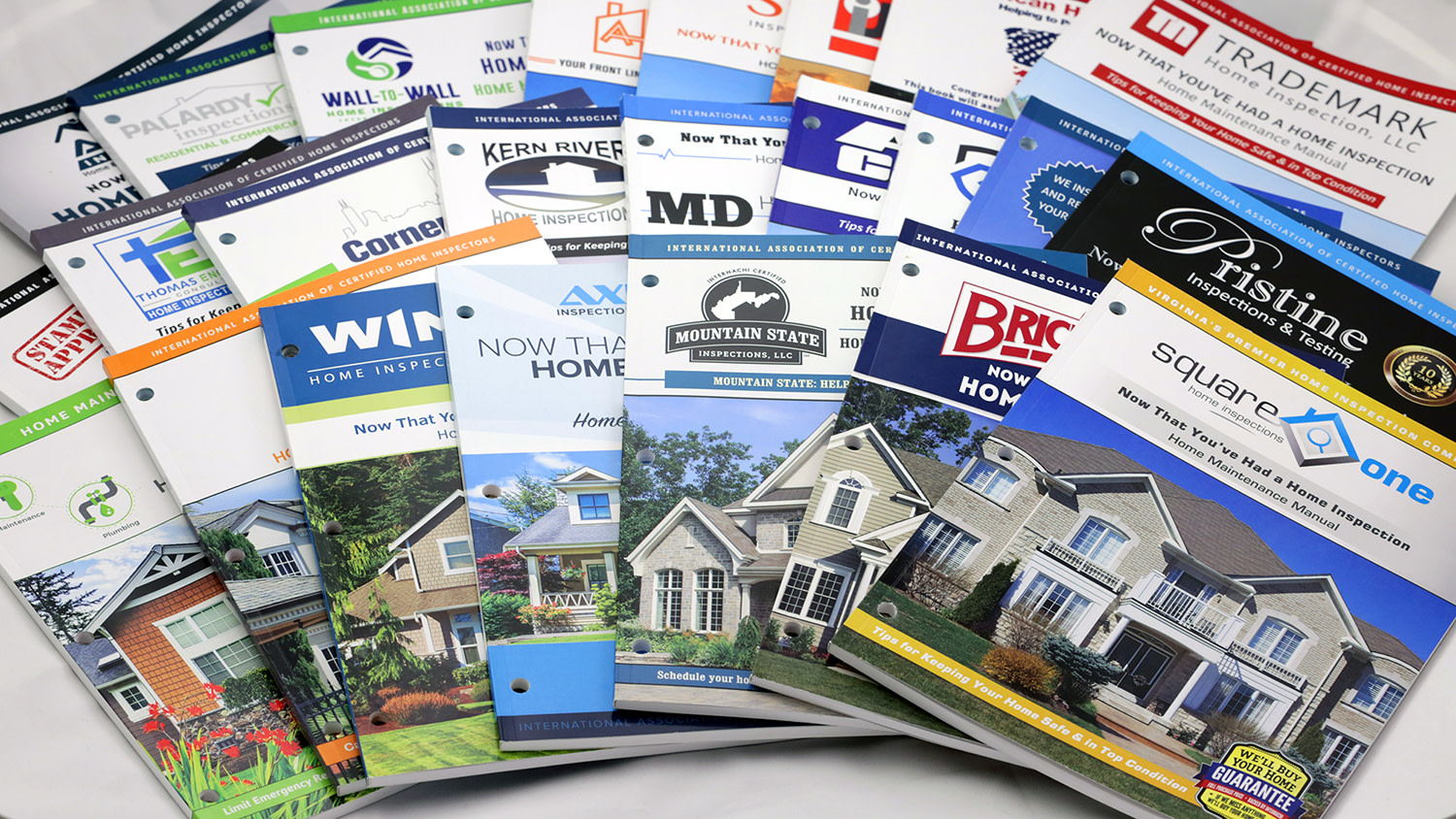 Custom Home Maintenance Books