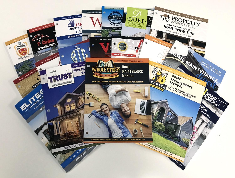 Custom Home Maintenance Books