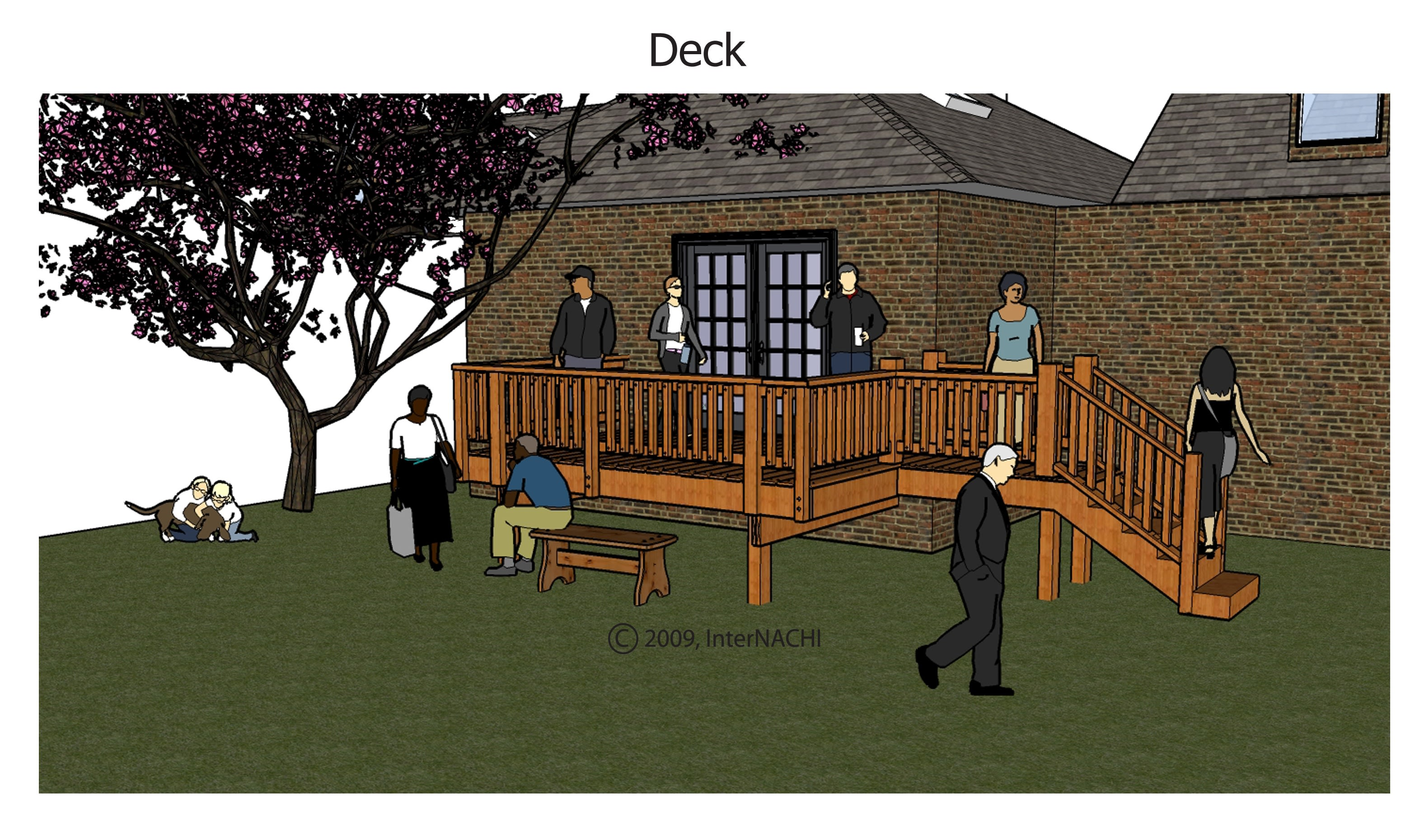 Deck.