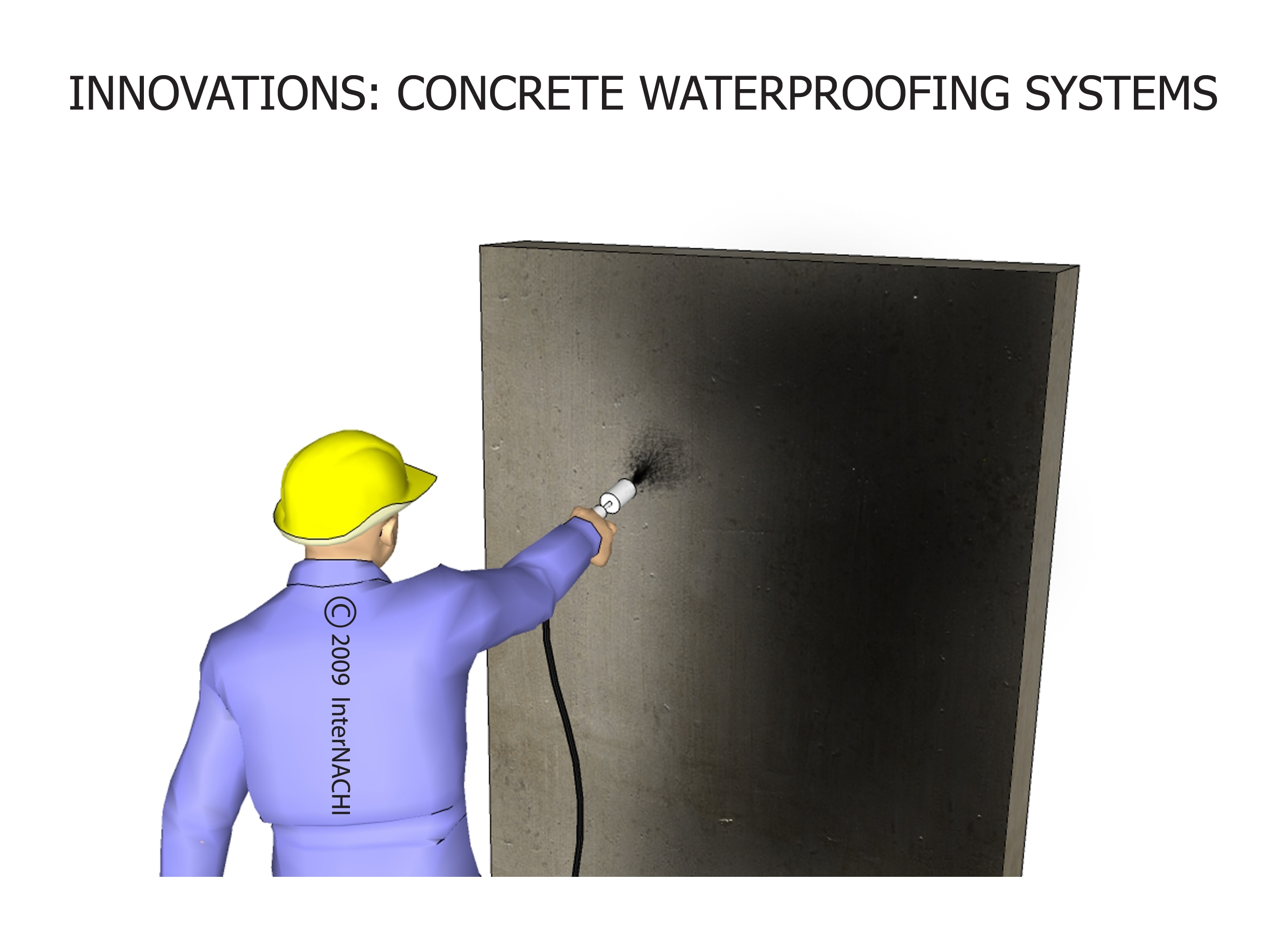 Waterproofing.