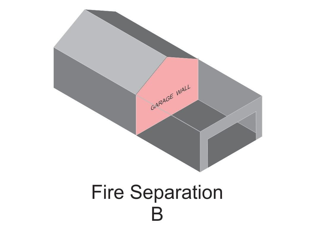 Garage fire B