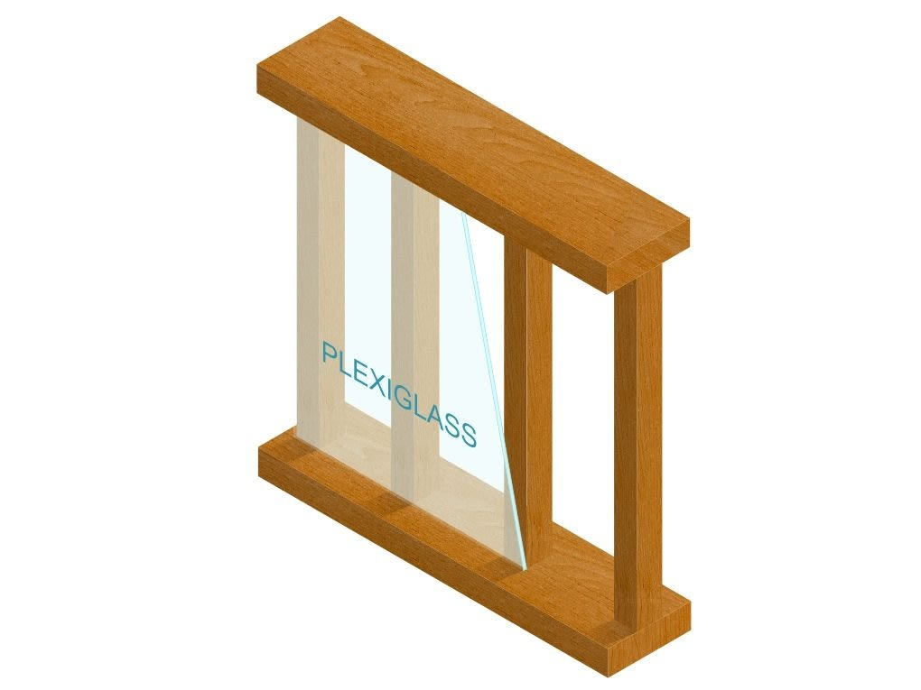Plexiglass graphic