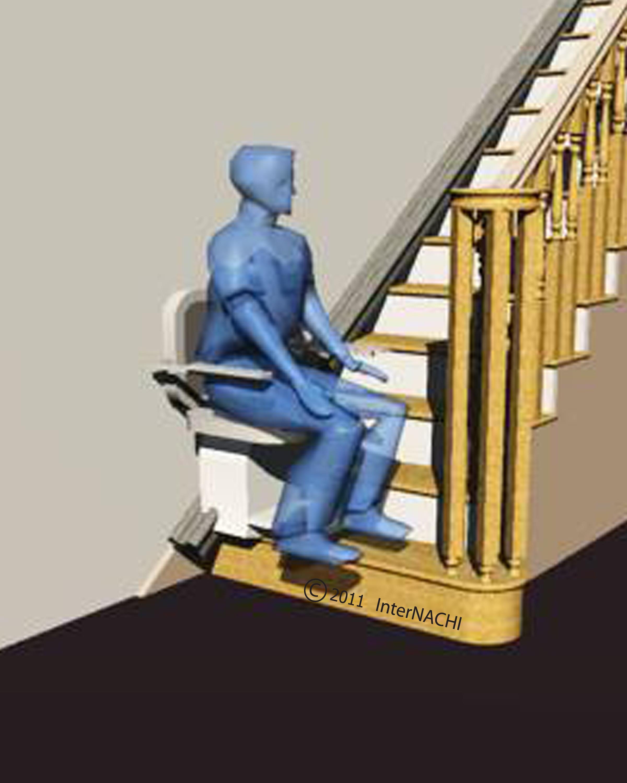 Chair lift.