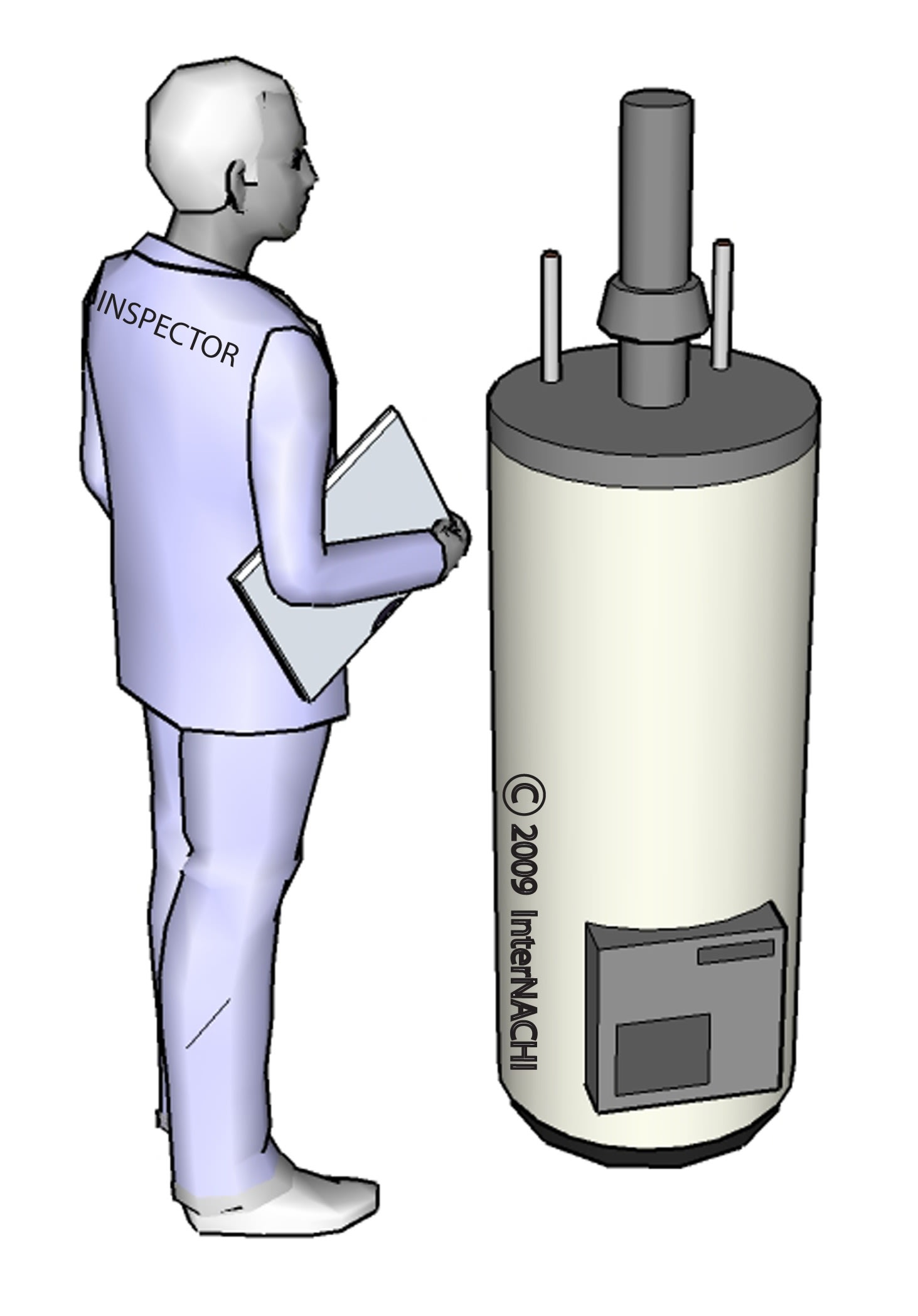 Waterheater inspection.