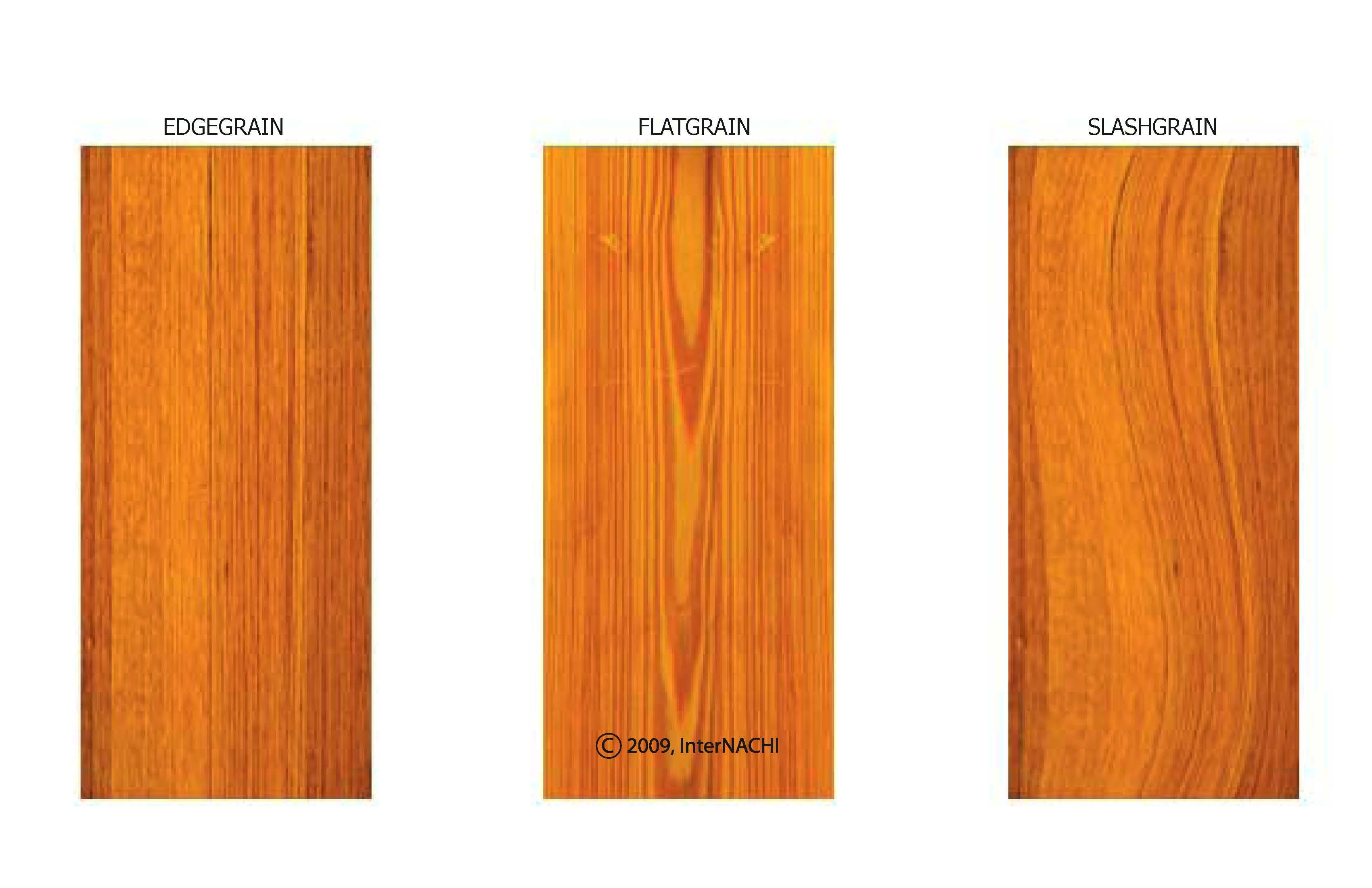 Wood shake types.