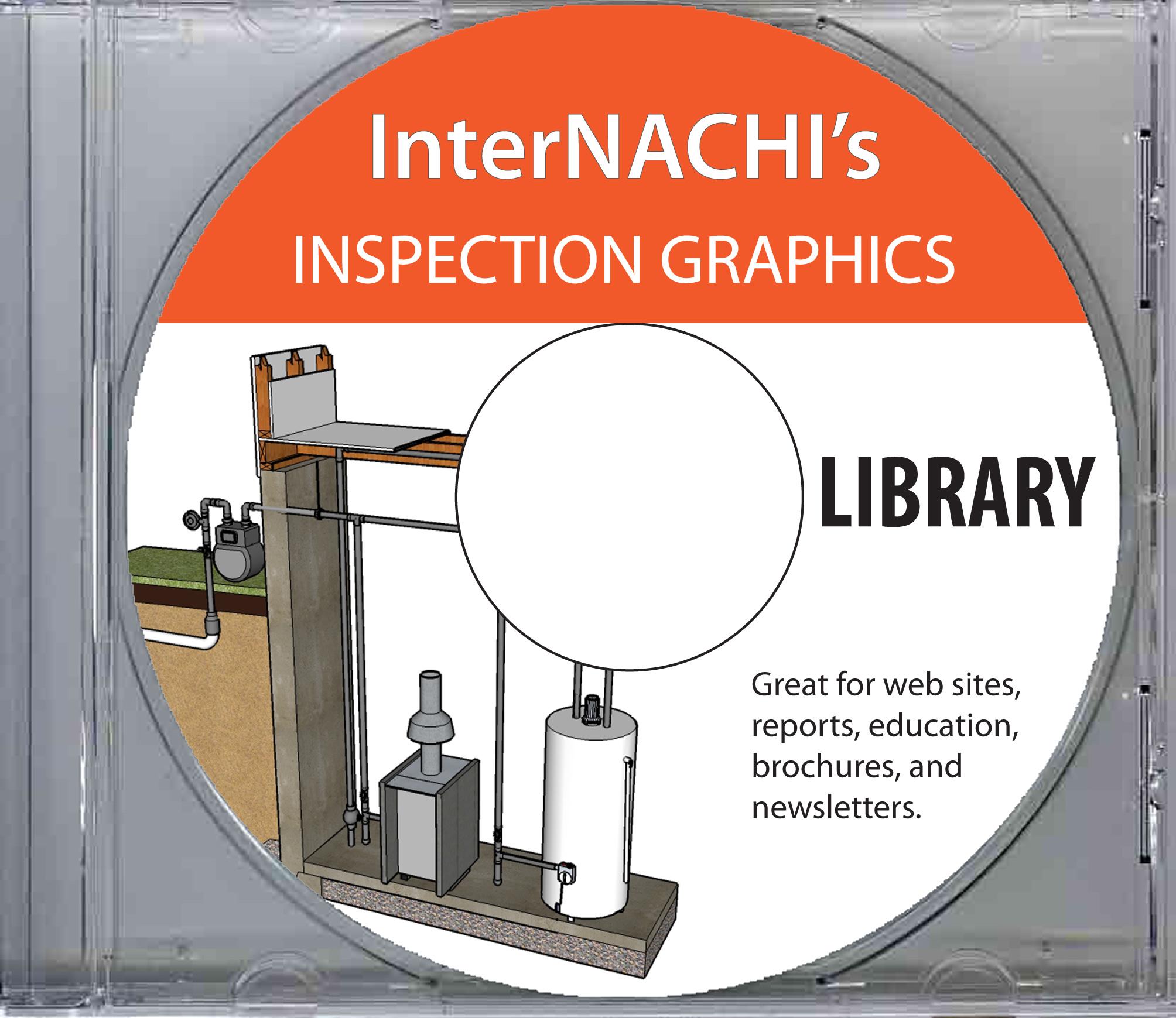 InterNACHI inspection graphics library.