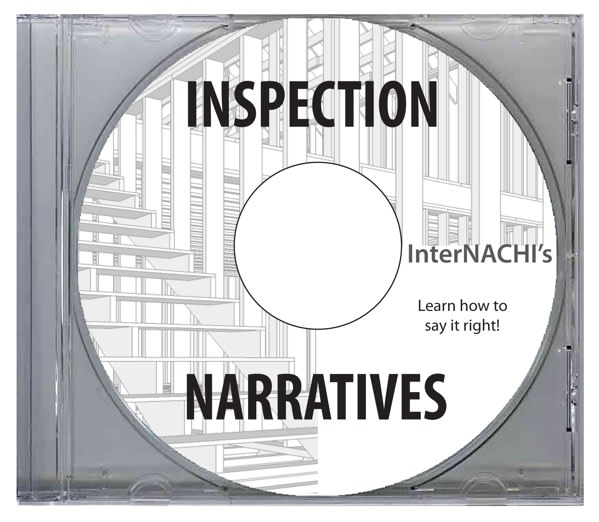InterNACHI's inspection narratives.