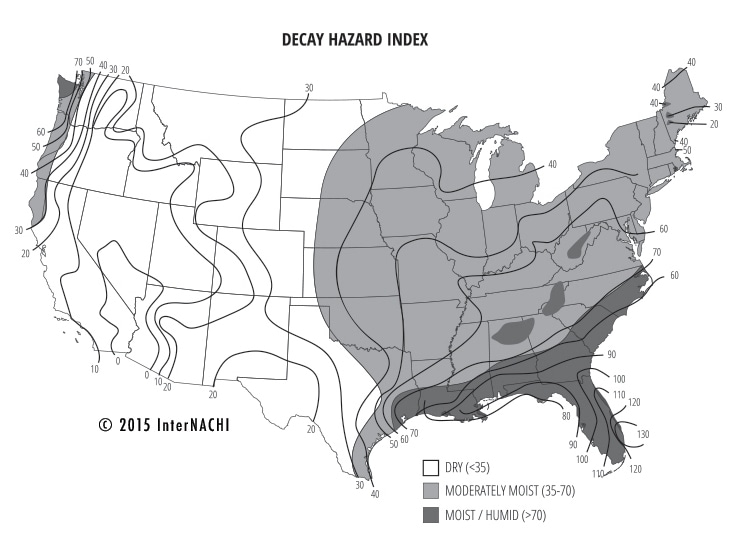 Decay hazard index.