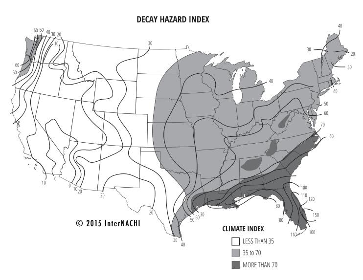 Decay hazard index.