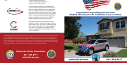 Custom Home Maintenance Book for American Home Inspection