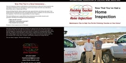 Custom Home Maintenance Book for Finishing Touches Home Inspections