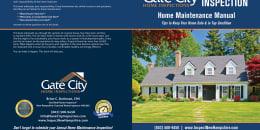 Custom Home Maintenance Book for Gate City Home Inspections