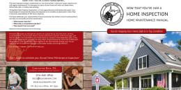 Custom Home Maintenance Book for Black Bear Property Inspections