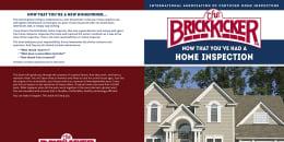 Custom Home Maintenance Book for BrickKicker