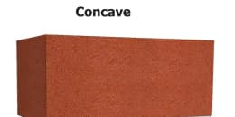 Concave Mortar Joint