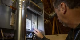 Attic Furnace Inspection