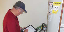 Water Heater Inspection