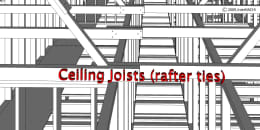 Ceiling Joists (Rafter Ties)