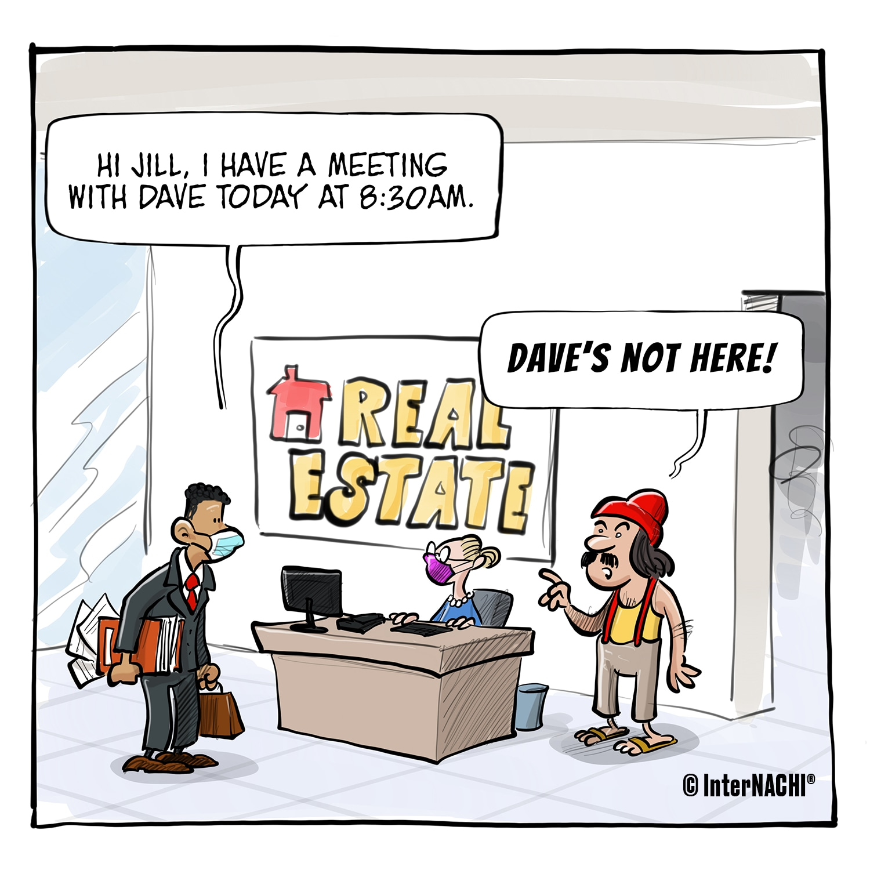 2020 Business Meeting Guidelines Cartoon