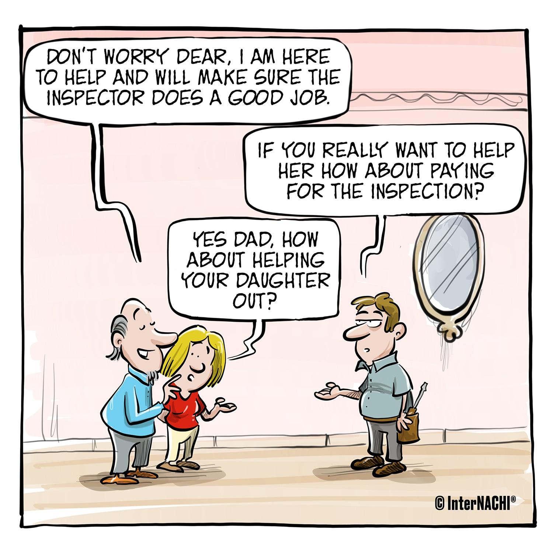 A Helpful Hand Cartoon