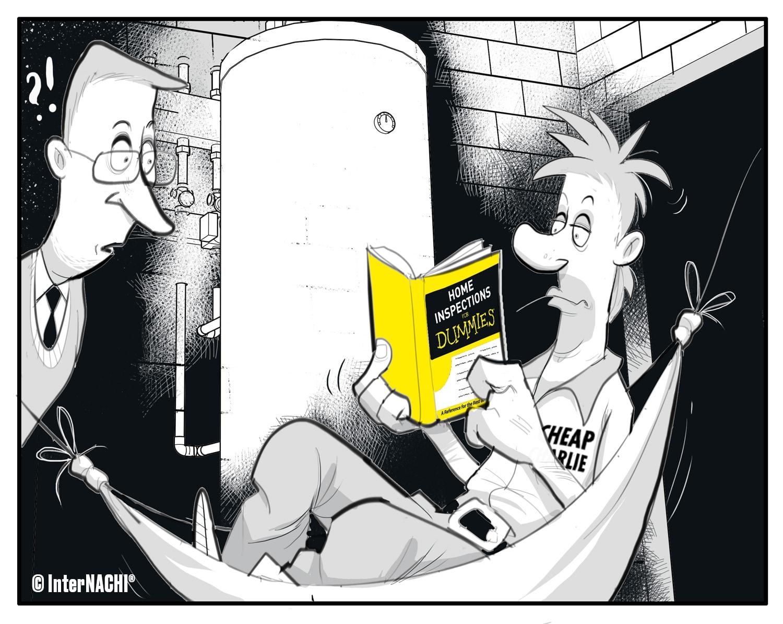 Cheap Charlie Technical Literature Cartoon