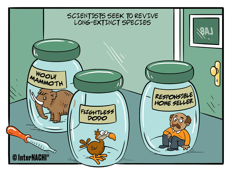 De-Extinction Project Cartoon