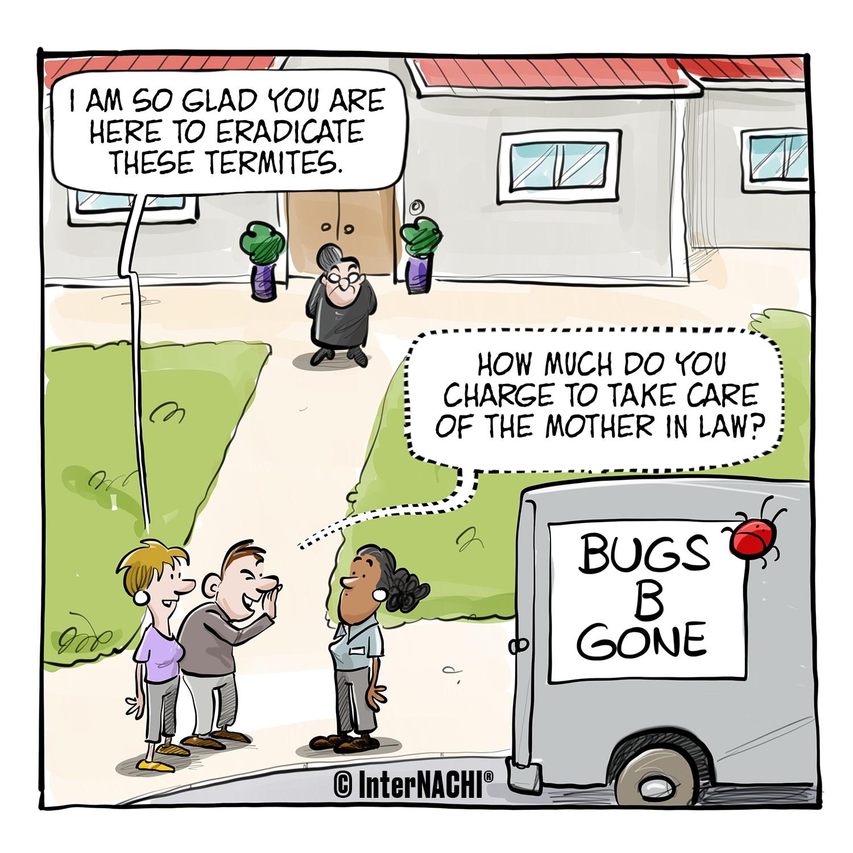 Pest Control Add-Ons Cartoon