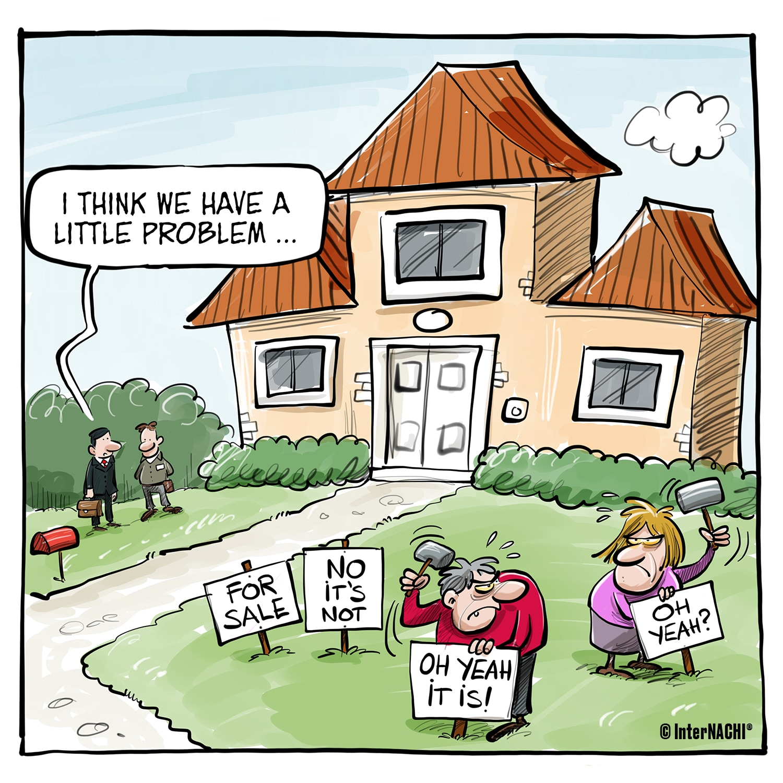 Seller Inspection Sign Wars Cartoon