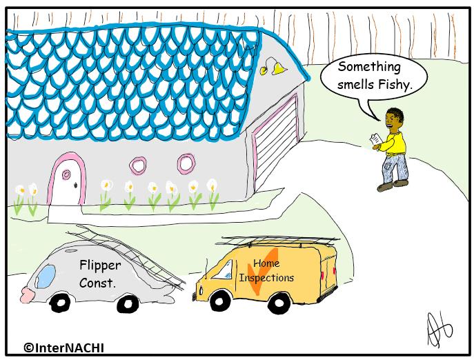 Something Smells Fishy Cartoon