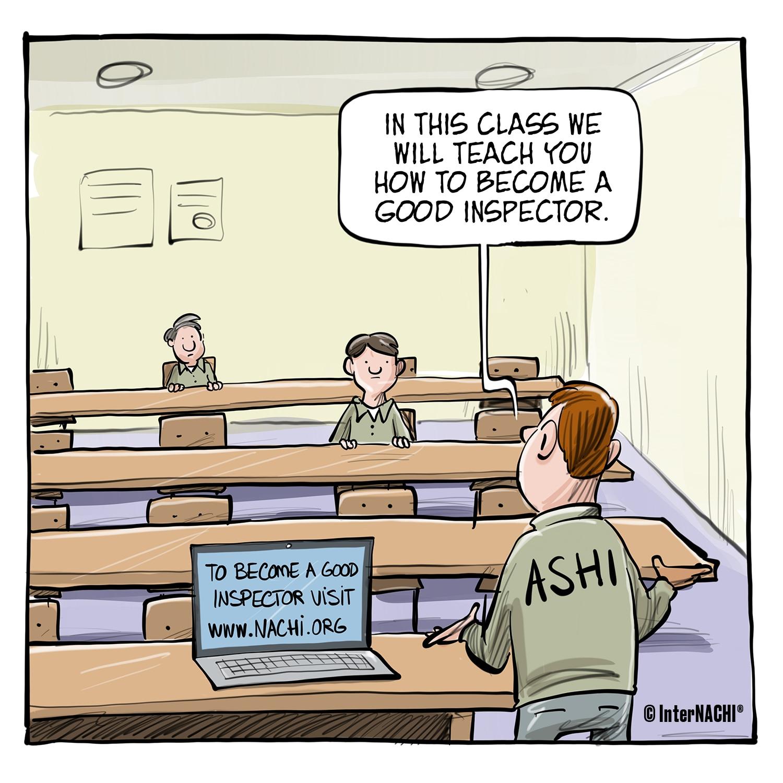 Teaching Inspectors Cartoon