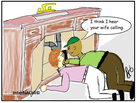 The Involved Client Cartoon