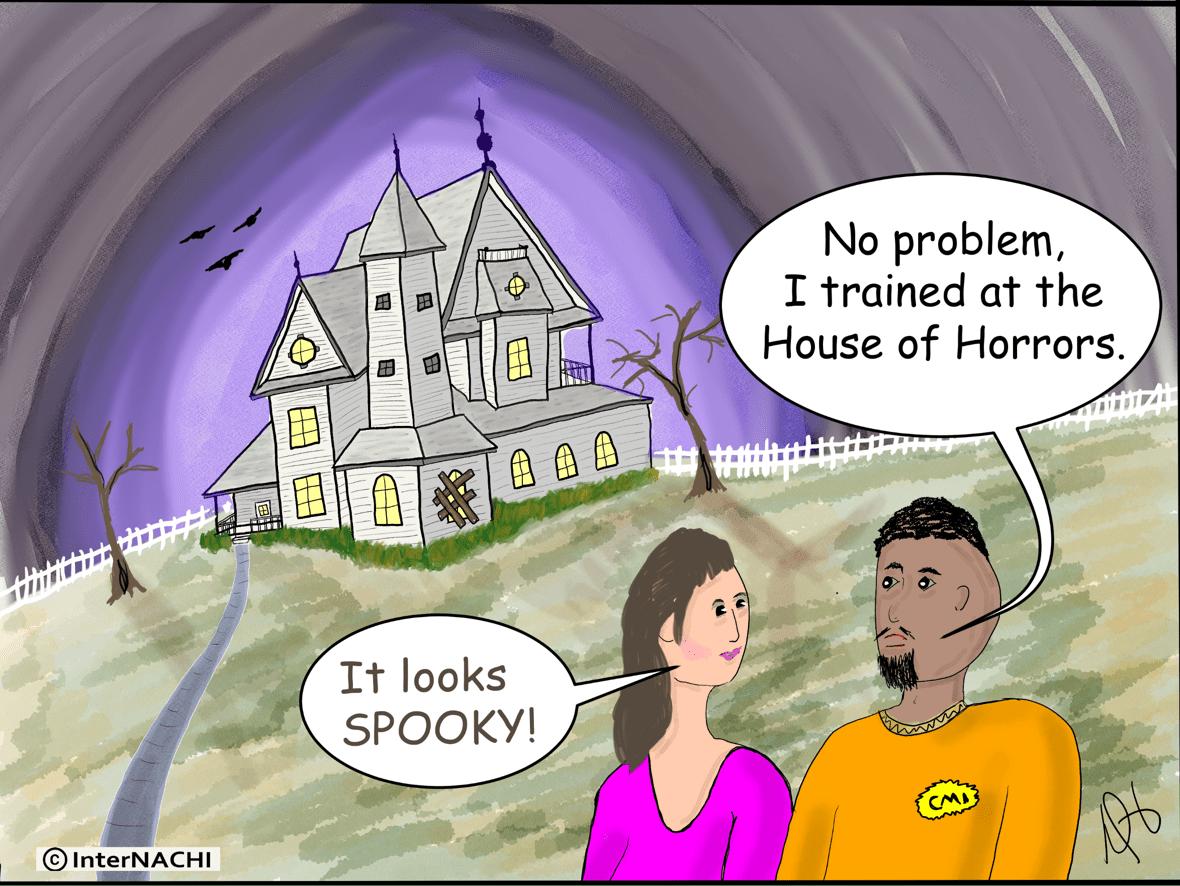 Training Put to Good Use Cartoon