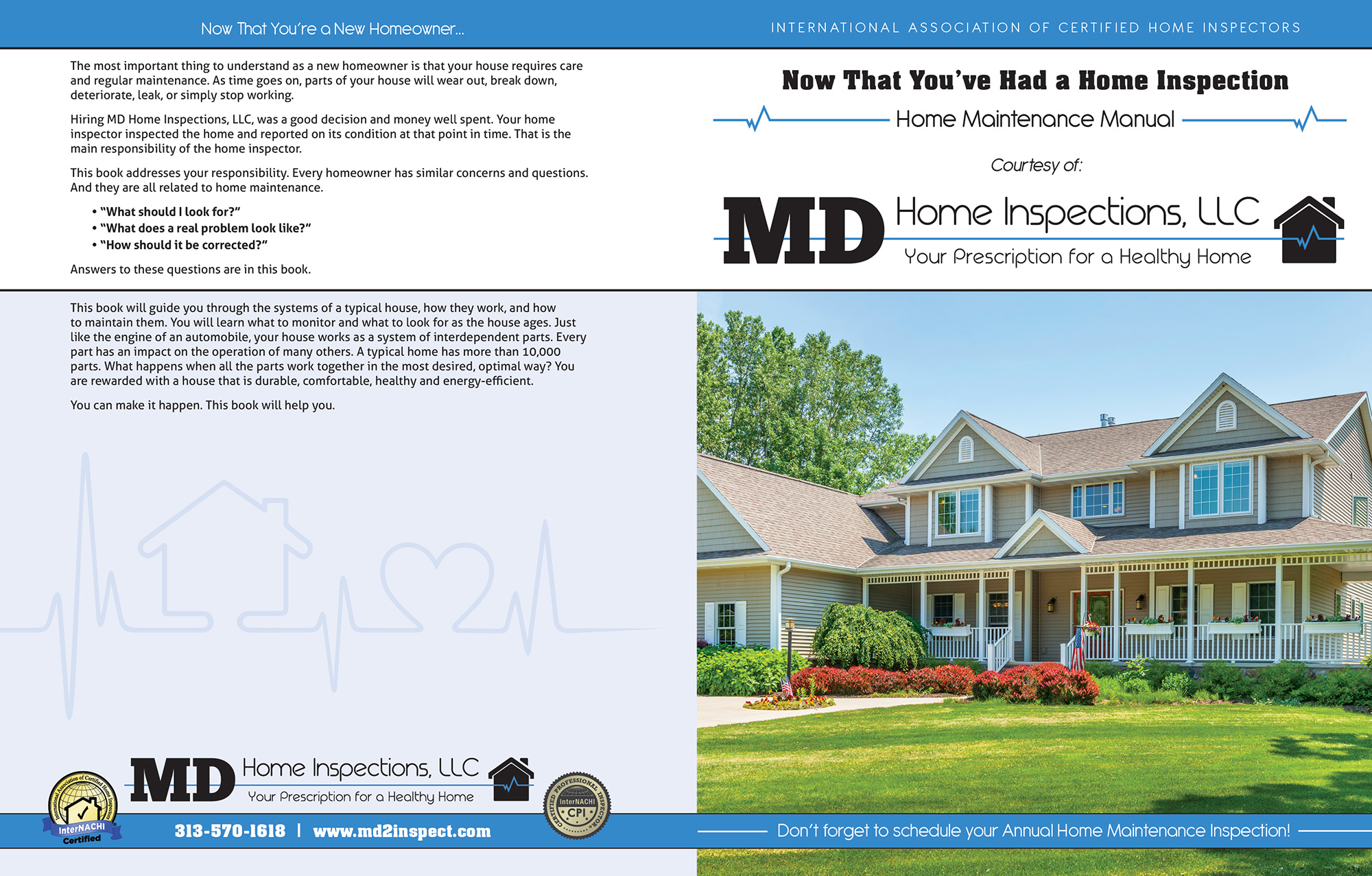 MD Home Inspections book
