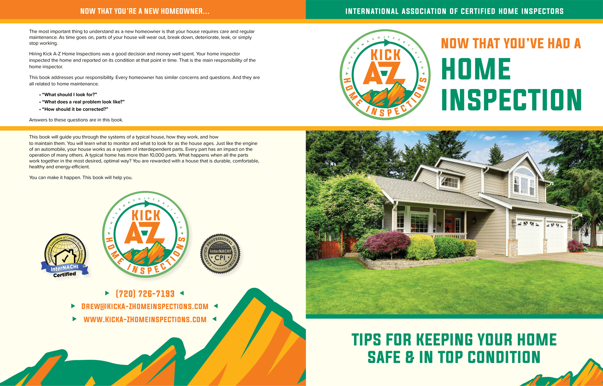 A-Z Home Inspections book cover.