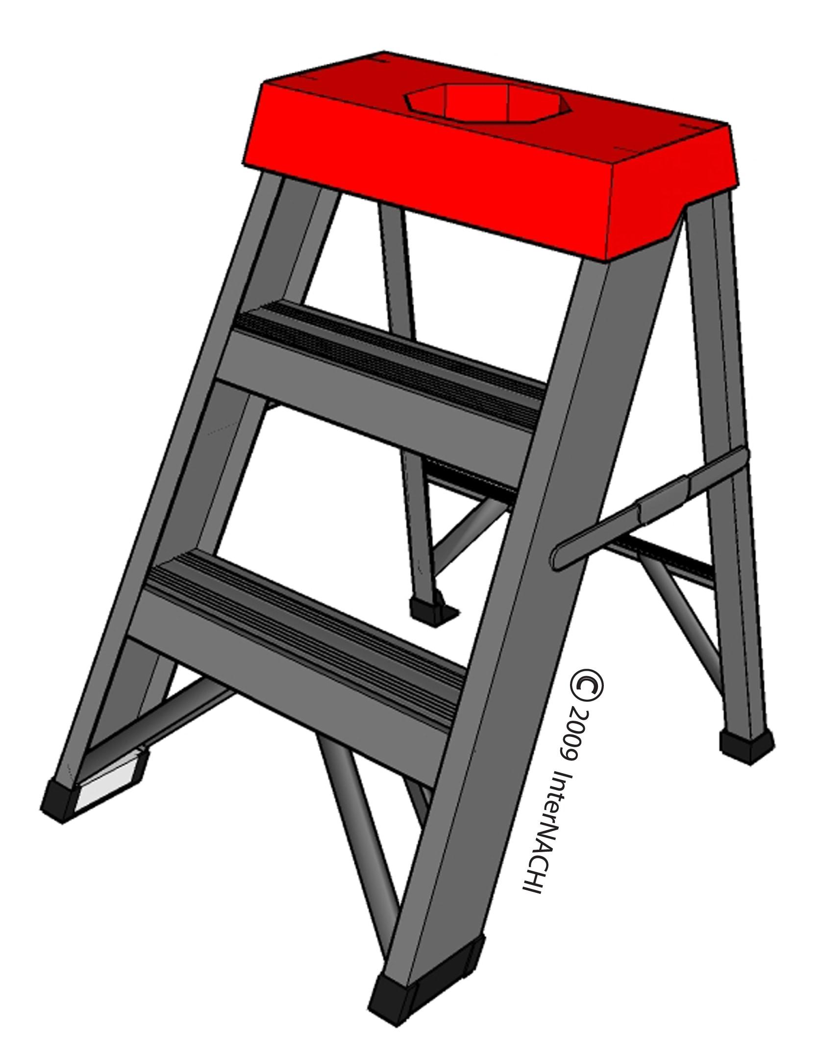 Little step ladder.