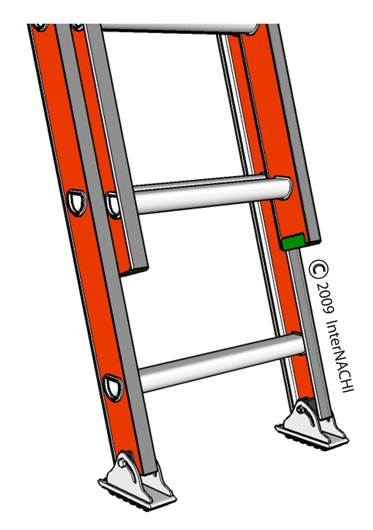 Stable ladder.